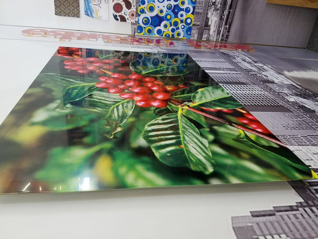 HD metal print