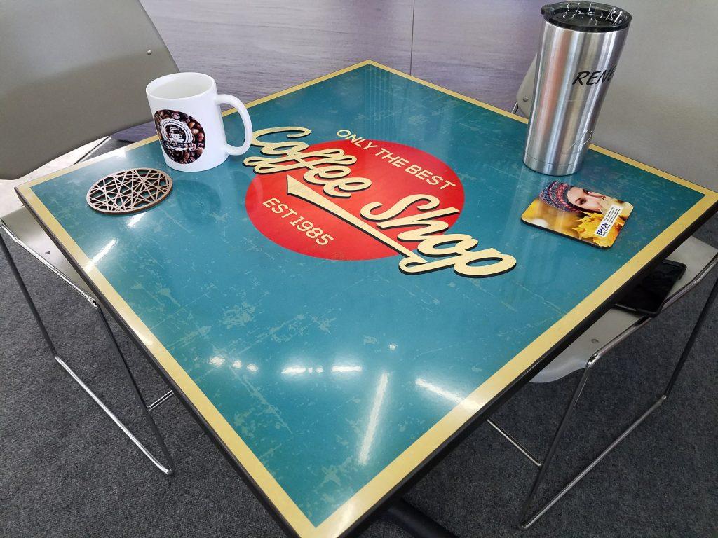 Table top print