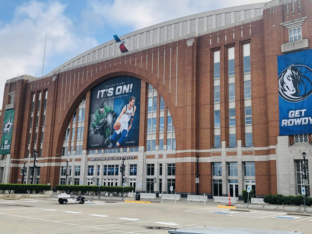 super graphic at the American Airlines Center