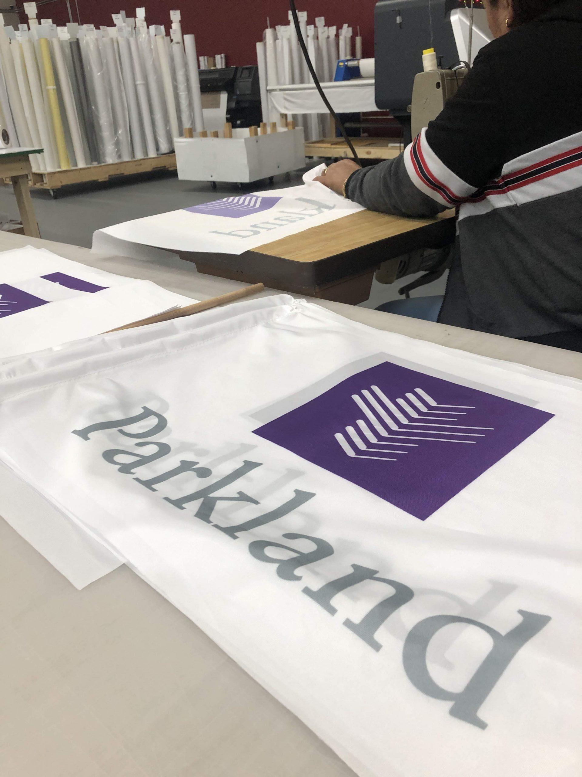 Printed flags