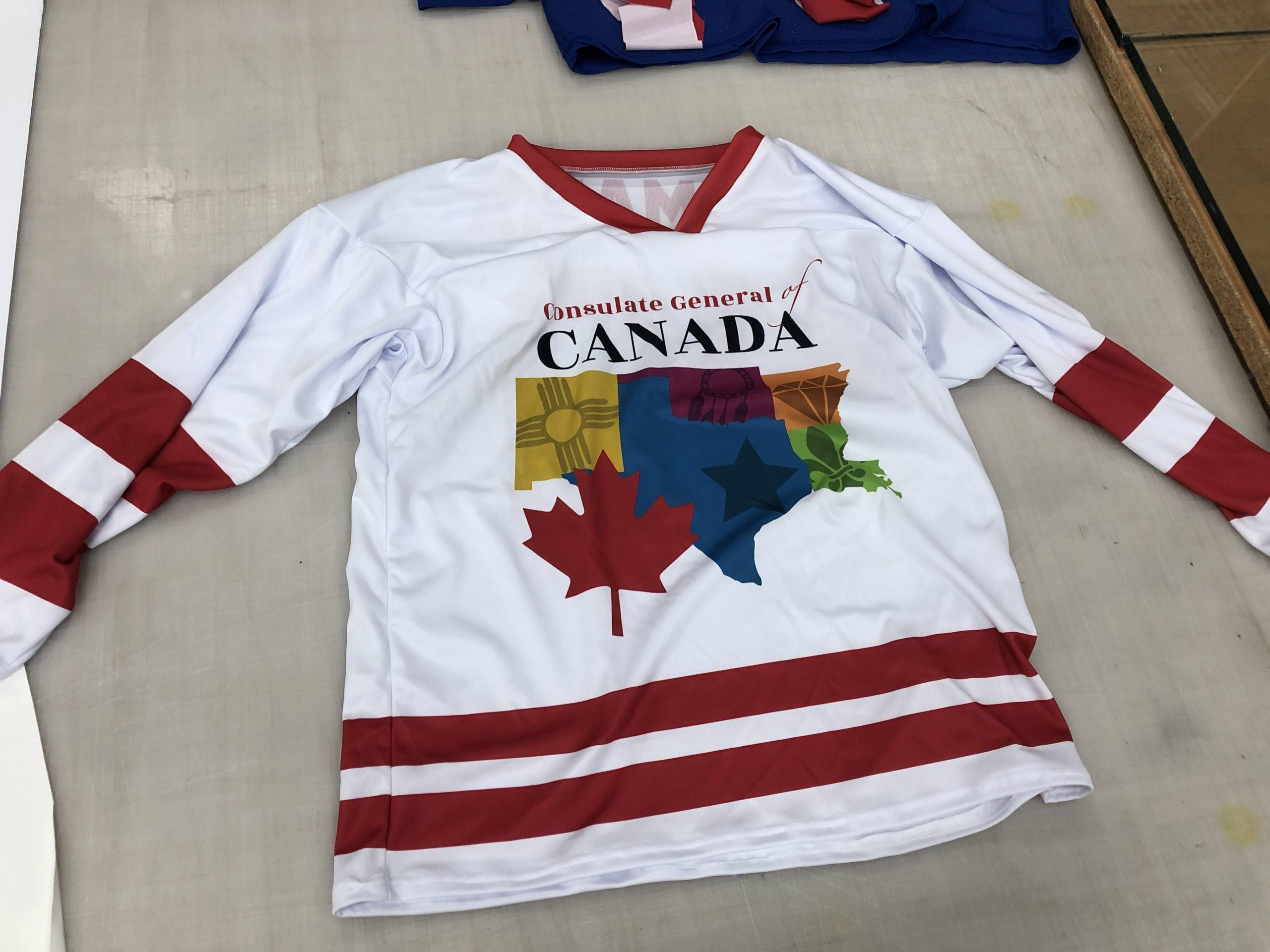 Custom dye sublimated jerseys