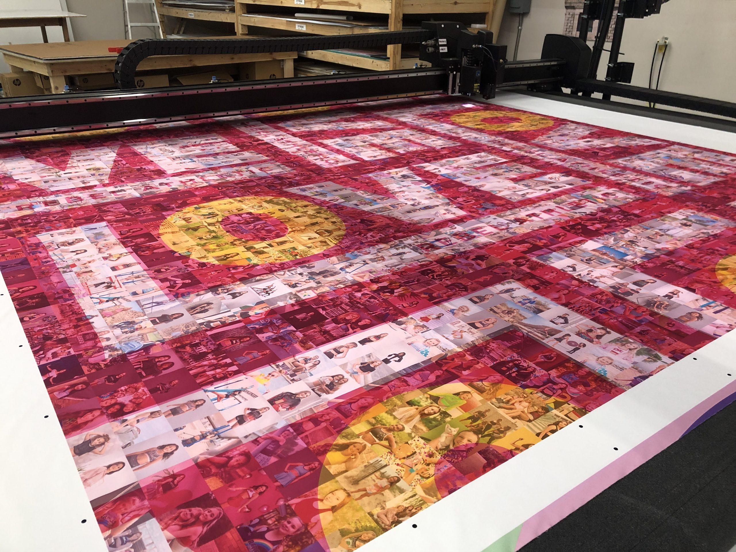 Dye sublimation fabric